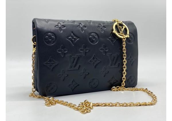 Сумка Louis Vuitton Coussin Pm черная через плечо