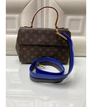Сумка Louis Vuitton FAVORITE с черно-синим ремнем