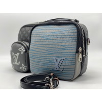 Сумка Louis Vuitton Utility черная с серым