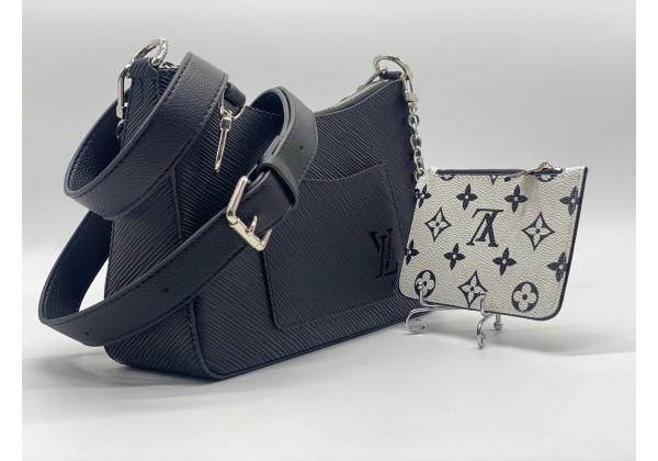 Сумка Louis Vuitton Favorite черная с белым