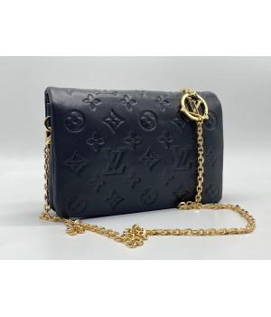 Сумка Louis Vuitton Coussin с цепочкой черная