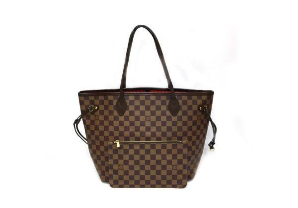 Сумка Louis Vuitton Neverfull Gm коричневая