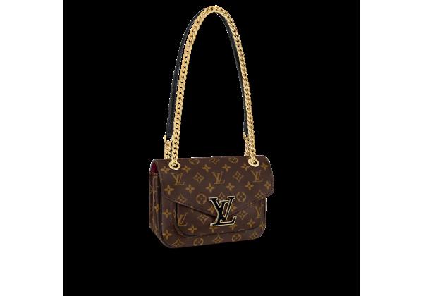 Сумка Louis Vuitton Passy коричневая