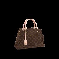 Сумка Louis Vuitton Montaigne MM коричневая