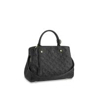 Сумка Louis Vuitton Montaigne MM черная