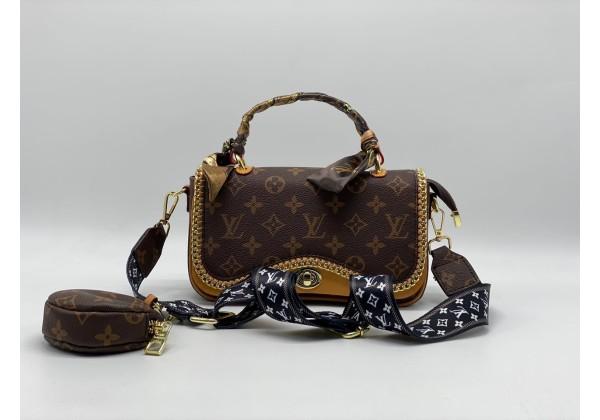 Сумка Louis Vuitton бабочка коричневая