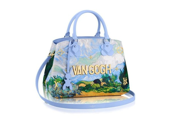 Louis Vuitton Сумка Van Gogh голубая