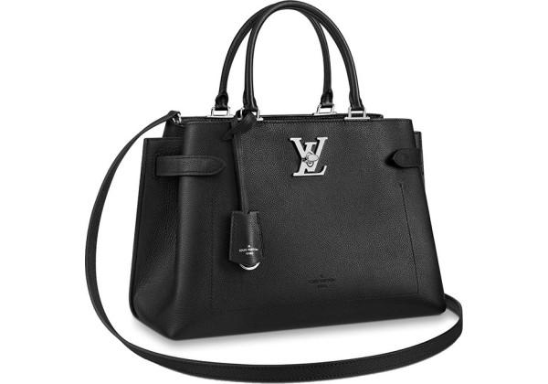 Сумка Louis Vuitton Lockme Day черная
