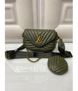 Сумка Louis Vuitton Pochette metis хаки