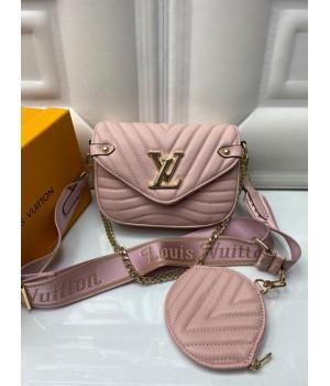 Сумка Louis Vuitton Pochette metis пудра