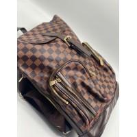 Рюкзак Louis Vuitton в клетку коричневый