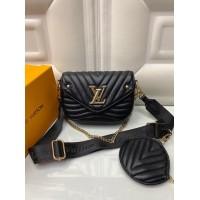 Сумка Louis Vuitton Pochette metis черная