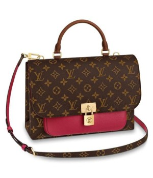 Сумка Louis Vuitton Victoire коричнево-бордовая