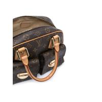 Сумка Louis Vuitton Manhattan PM темно-коричневая