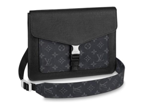 Сумка Louis Vuitton мужская Outdoor черная