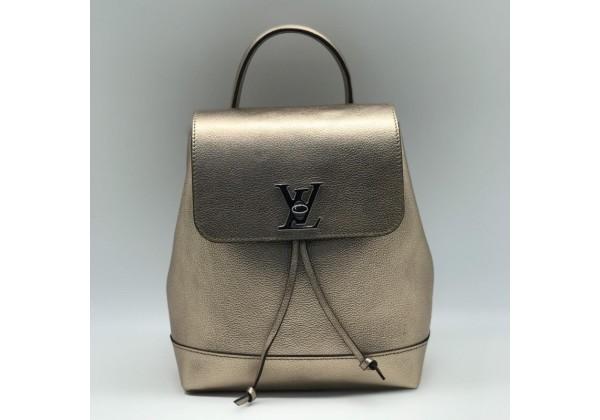 Рюкзак Louis Vuitton LOCKME бронзовый
