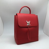 Рюкзак Louis Vuitton LOCKME красный