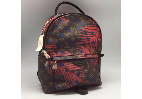 Рюкзак Louis Vuitton PALM SPRINGS BROUN с принтом коричневый