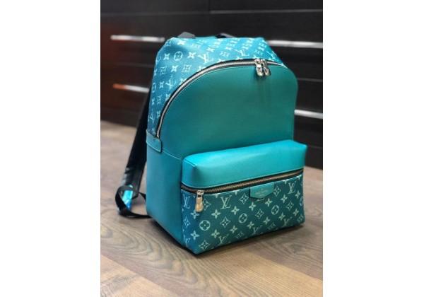 Рюкзак Louis Vuitton Discovery бирюзовый