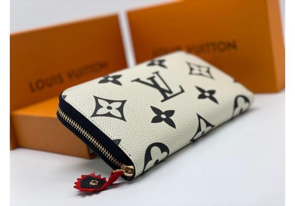 Кошелек Louis Vuitton ZIPPY белый