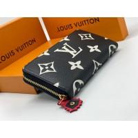 Кошелек Louis Vuitton ZIPPY черный