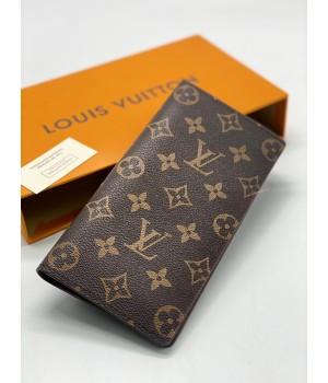 Кошелек Louis Vuitton с монограммой коричневый
