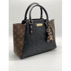 Сумка женская Louis Vuitton Haumea черно-коричневая