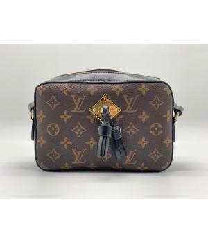 Сумка Louis Vuitton SAINTONGE MONOGRAM коричневая с черным