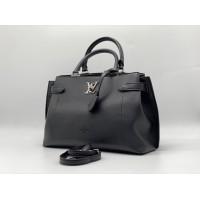 Сумка женская Louis Vuitton LOCKME черная