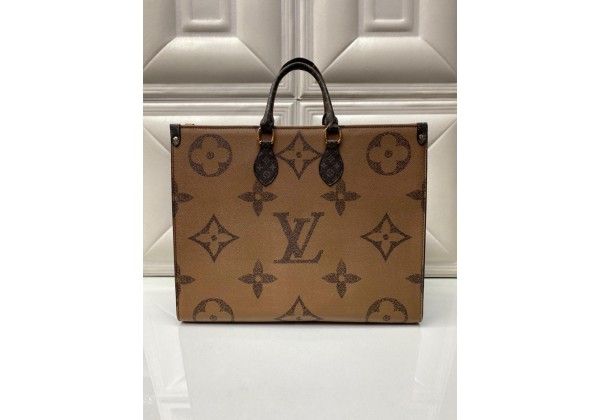 Сумка Louis Vuitton ONTHEGO коричневая