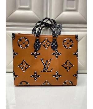 Louis Vuitton Сумка Тоут светло-коричневая