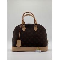 Сумка женская Louis Vuitton Alma коричнево-бежевая