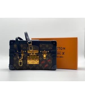 Сумка Louis Vuitton через плечо черная