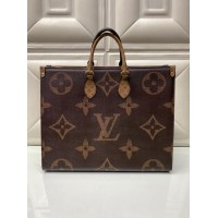 Сумка Louis Vuitton ONTHEGO темно-коричневая