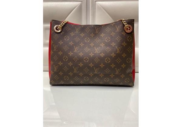 Сумка Louis Vuitton коричнево-красная