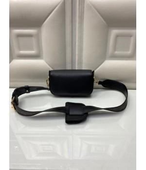 Сумка женская Louis Vuitton 2 в 1 моно черная
