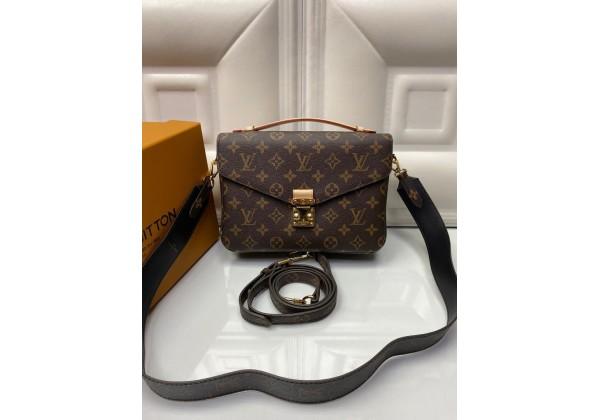 Сумка Louis Vuitton  POCHETTE METIS с монограммой коричневая