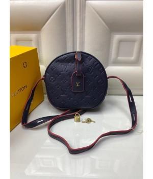 Louis Vuitton Круглая Сумка синяя