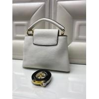 Сумка Louis Vuitton CAPUCINES белая