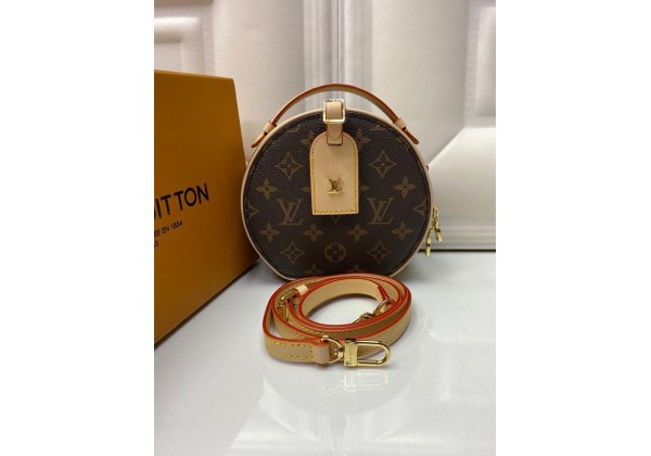 Сумка Louis Vuitton Petite Boite Chapeau коричневая