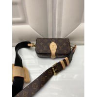 Сумка Louis Vuitton 2 в 1 коричневая