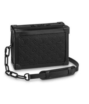 Cумка Louis Vuitton мужская soft trunk черная