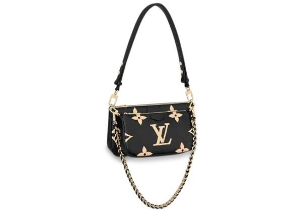 Сумка Louis Vuitton Multi pochette accessoires черная