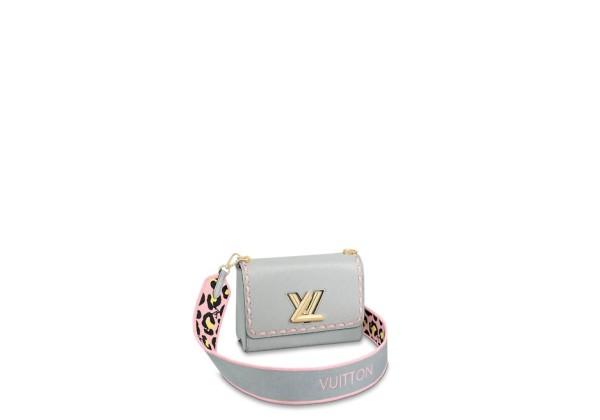 Сумка Louis Vuitton Twist mm серая