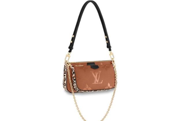 Сумка Louis Vuitton Multi pochette accessoires карамельная
