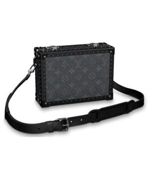 Cумка Louis Vuitton мужская clutch box черная