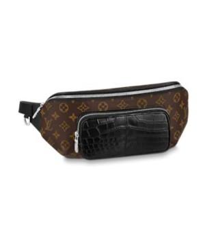 Поясная сумка Louis Vuitton коричневая