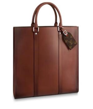 Портфель Louis Vuitton sac plat коричневый