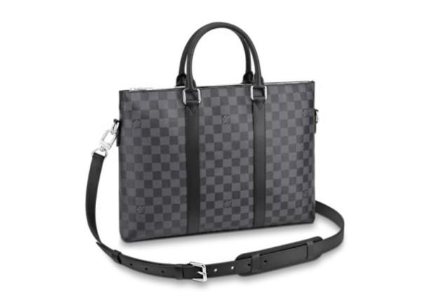 Портфель Louis Vuitton Anton черный