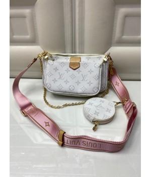 Сумка Louis Vuitton белая